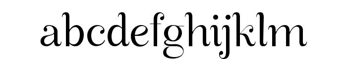Manohara Light Pro Font LOWERCASE