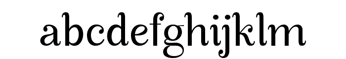 Manohara Pro Font LOWERCASE