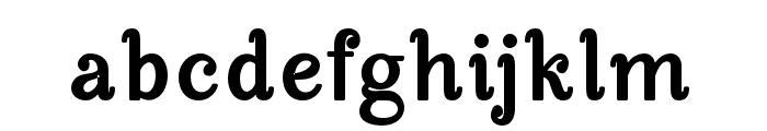 ManoharaBlackPro Font LOWERCASE
