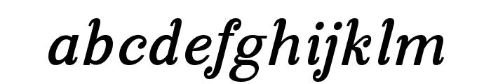 ManoharaBoldItalicPro Font LOWERCASE