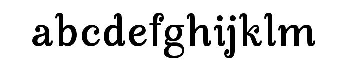 ManoharaBoldPro Font LOWERCASE