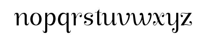 ManoharaLightPro Font LOWERCASE