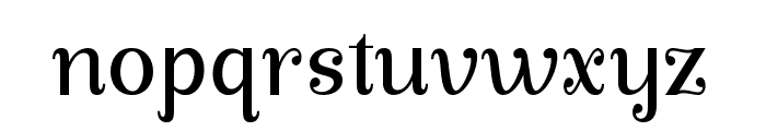 ManoharaPro Font LOWERCASE