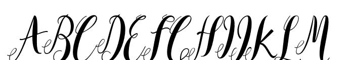 Mantana Font UPPERCASE