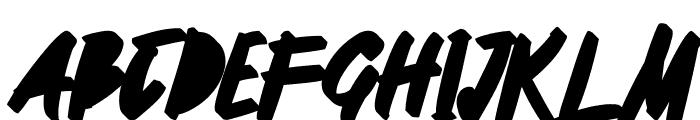 Manterah Black Font UPPERCASE