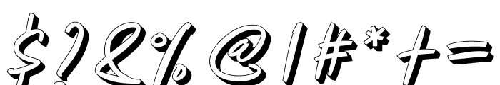 Manterah Bold Font OTHER CHARS