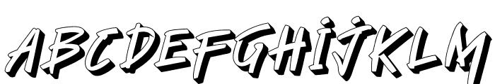 Manterah Bold Font LOWERCASE