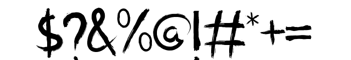 Manticore Font OTHER CHARS