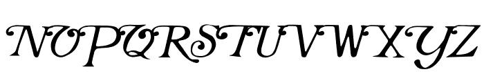 Marakesh Font UPPERCASE