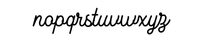 Marcela-Regular Font LOWERCASE