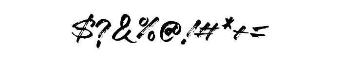 Marceline-Regular Font OTHER CHARS