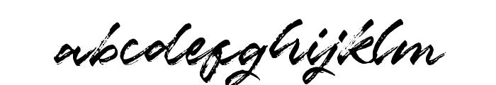 Marceline-Regular Font LOWERCASE