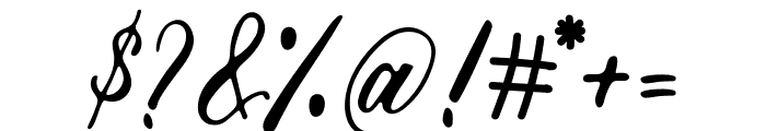 Marcellines Font OTHER CHARS