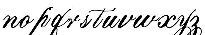 Marcellines Font LOWERCASE