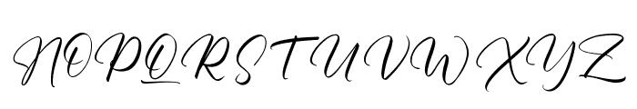 Margaritha Tropicana Font UPPERCASE