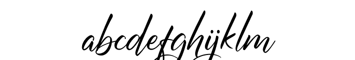Margaritha Tropicana Font LOWERCASE