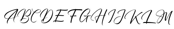 MargarithaTropicana Font UPPERCASE