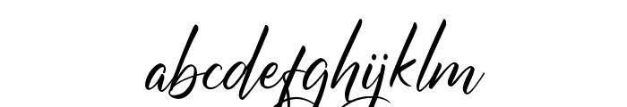MargarithaTropicana Font LOWERCASE