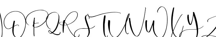 Margenta Font UPPERCASE