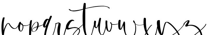 Margenta Font LOWERCASE