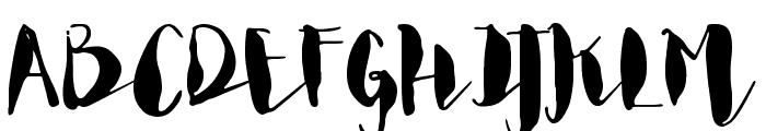 Margot & Margery Regular Font UPPERCASE