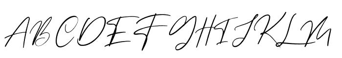 Margott Rooster Font UPPERCASE