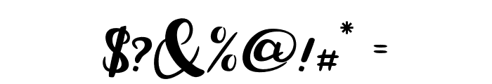 MarisaScript Font OTHER CHARS