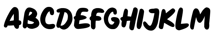 Marker Notes Font LOWERCASE