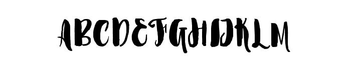 Marmaris-Regular Font UPPERCASE
