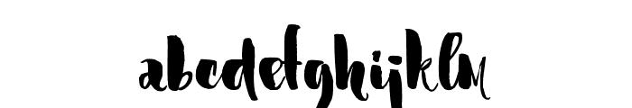 Marmaris-Regular Font LOWERCASE