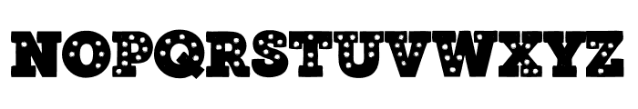 MarqueeTwo2 Font LOWERCASE