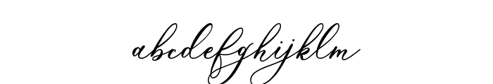 Marshella Font LOWERCASE