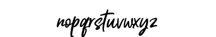 Mashita Font LOWERCASE