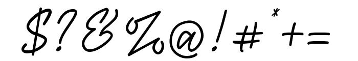 Mashiya Font OTHER CHARS