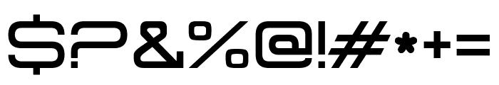 Master Tagline Font OTHER CHARS