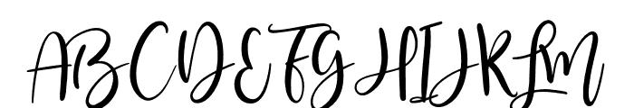 Masterblush-Alt Font UPPERCASE