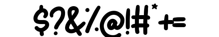 Matcha Latte Font OTHER CHARS