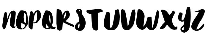 Matilda Font UPPERCASE