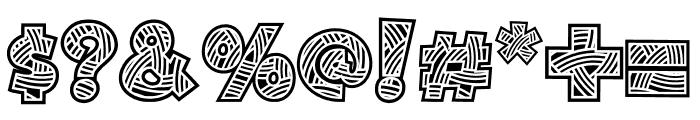 Matsuri-Regular Font OTHER CHARS