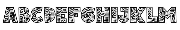 Matsuri-Regular Font UPPERCASE