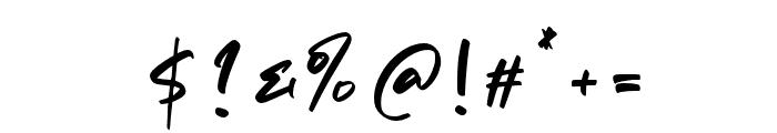 Matsuyama Font OTHER CHARS