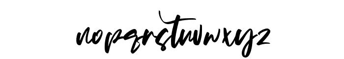 Matsuyama Font LOWERCASE