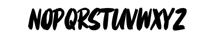 Mattsolar Font UPPERCASE