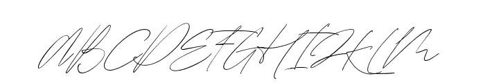 MatureQwerty Font UPPERCASE