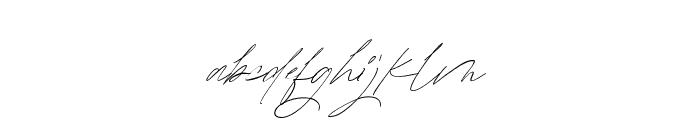 MatureQwerty Font LOWERCASE