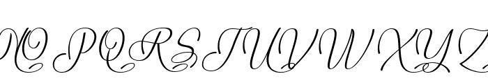 Mauna Loa Font UPPERCASE