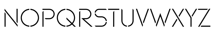Maxellight Light-Sharp Font UPPERCASE