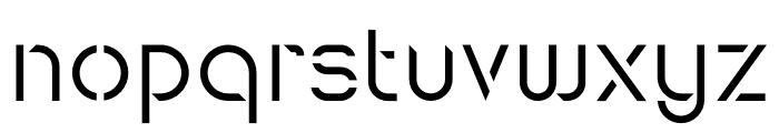 Maxellight Sharp Font LOWERCASE