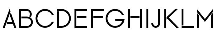 Maxellight Font UPPERCASE