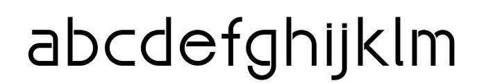 Maxellight Font LOWERCASE